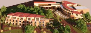Проект комплекса рекреационной зоны