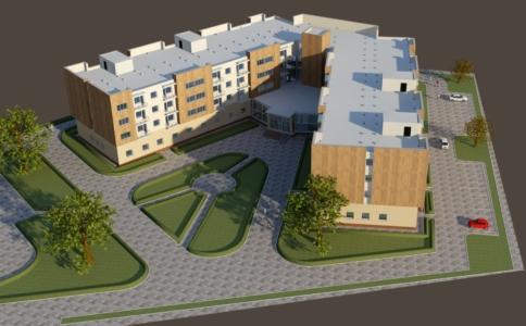 Проект общежития студентов техникума