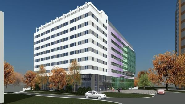 Офисно-гостиничный центр, Ленинский проспект 119 А