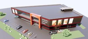 Торговый центр в поселке Сосенки