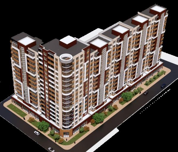 Проект жилого комлекса г.Симферополь