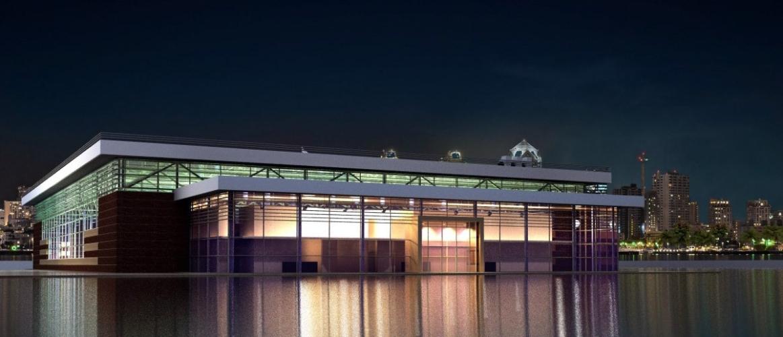 Проект спортивного центра