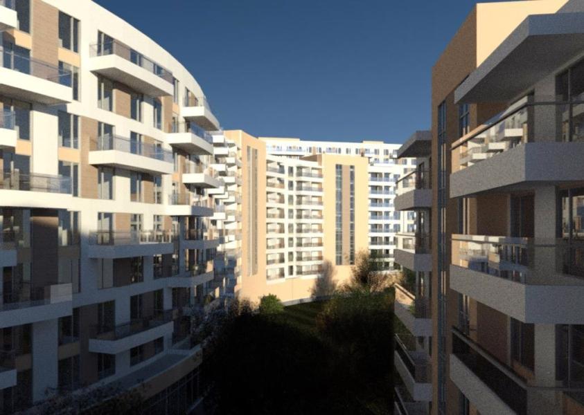 Проект жилого комлекса на 656 квартир, г.Ялта