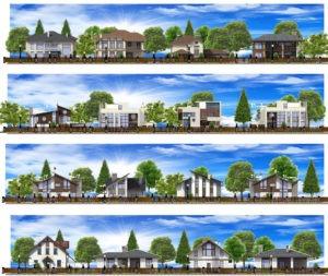 Проект планировки поселка Красново