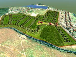 Квартальное решение территории поселка